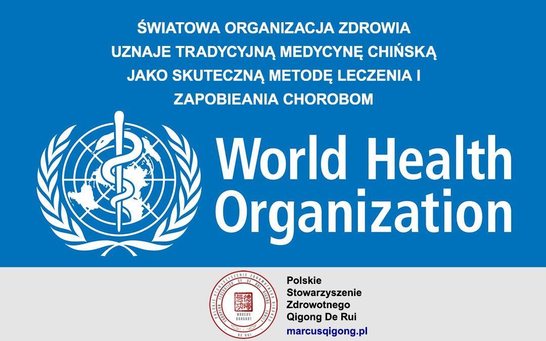Tradycyjna medycyna chińska uznana przez WHO za metodę leczenia